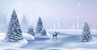 christmas-card-reindeer-christmas-card-reindeer-snowflakes-vector-illustration-103071273