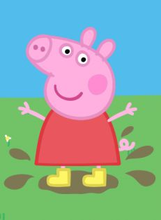Peppa pig cartoon