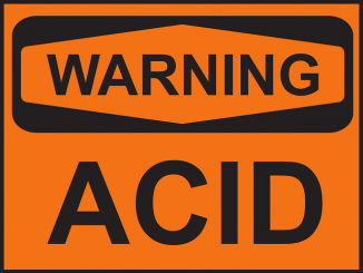 warning acid